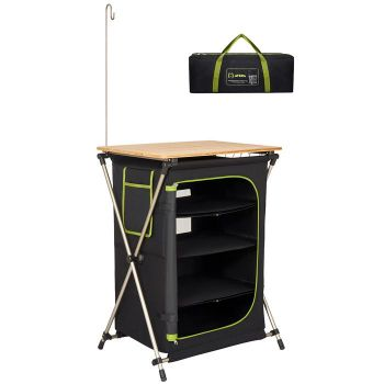 ATEPA Portable and Powerful Folding Kitchen for Camping, Backyards and BBQ